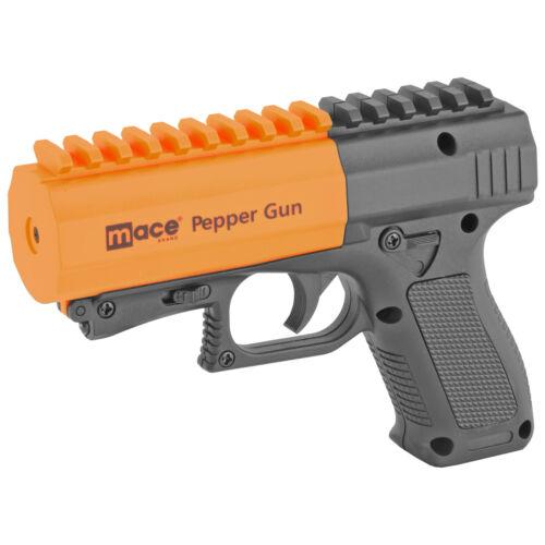 Mace Pepper Spray Gun 2.0 w/Strobe Light Includes Spray & Practice Cartridges