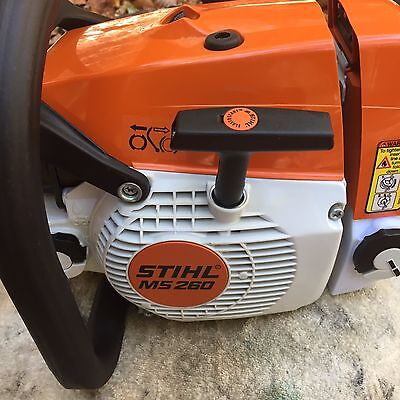 Stihl 260 Pro Chainsaw with 18 In 3/8, 63 Gauge Bar and Chain
