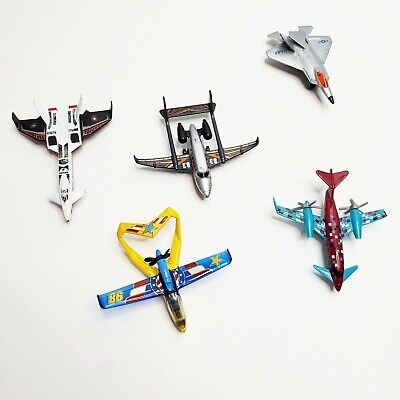 Matchbox Toy Airplanes Helicopters Diecast Plastic Bundle Set