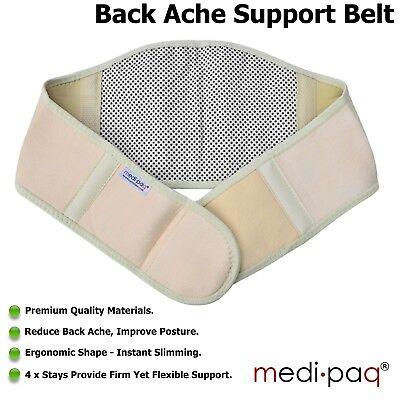 INFRA-RED Magnetic Waist Brace Lumbar Support Belt Lower BACK Pain Arthirits