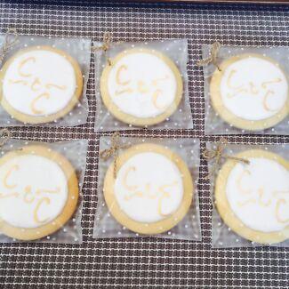 Personalised cookies to order