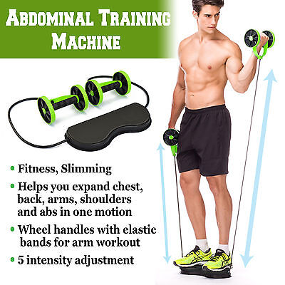 Home Gym Abs Equipment Exercise Body Fitness Abdominal Training Workout (Body Training)