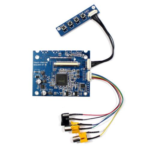 "2AV LCD Controller Board VS-D1612-N3 Work for 3.5"" 320x240 LQ035NC111 LCD Screen"