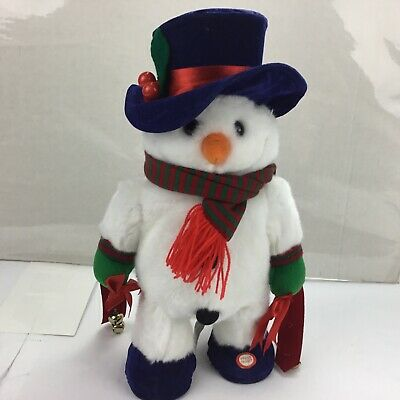 Animated Gemmy Frosty the Snowman Dances Moves Jingle Bell Rock See Video