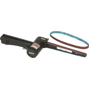 Klutch Mini Air Belt Sander - 15,000 RPM, 3.5 CFM
