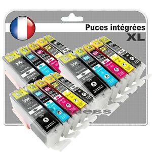 itm Cartouches dencre compatibles PGI CLI pour Canon pixma MG  AVEC PUCES