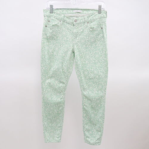 7 for all Mankind Skinny Jeans Crop Victorian Lace