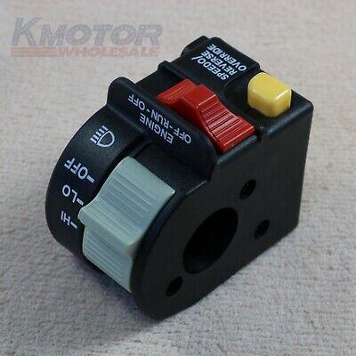 - Left Handle Bar Switch For Polaris Xplorer Xpedition 325 400 425 1999 2000 2001
