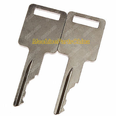 2 Ignition Key For Bobcat 751 753 763 773 863 873 883 963 Skid Steer 2 Cut Keys