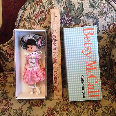 "Robert Tonner 8"" Tiny Betty Betsy McCall Sweet Gingham Goodness Articulated Doll"