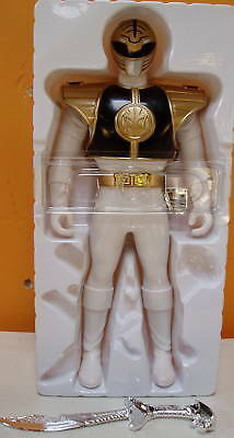 "POWER RANGERS  WHITE DAIRANGER KIBA RANGER BANDAI SENTAI  10"" BATTERY OPERATED for sale  Emeryville"