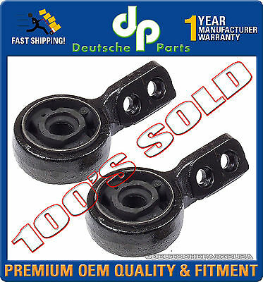 - FRONT CONTROL ARM RETAINER BRACKET BUSHINGS LEFT + RIGHT for BMW E30 SET 2