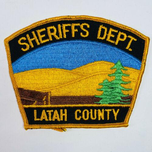 Letah County Sheriff Idaho ID Patch