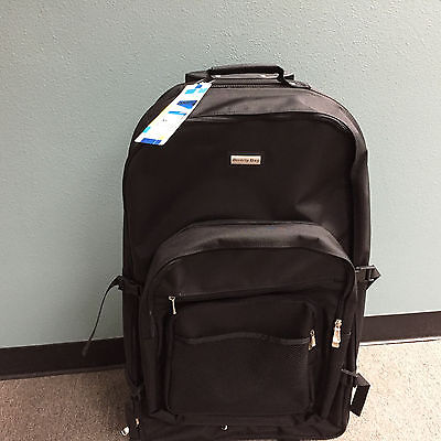 Beverly Bay Stout Rolling Backpack Wheeled Travel Bag 31""