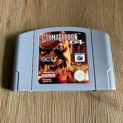 Carmageddon 64 - Nintendo 64 N64 - PAL - Cartridge Only (2)