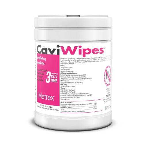 Metrex CaviWipes - Cavicide Germacidal Cleaner Wipes 160 ct