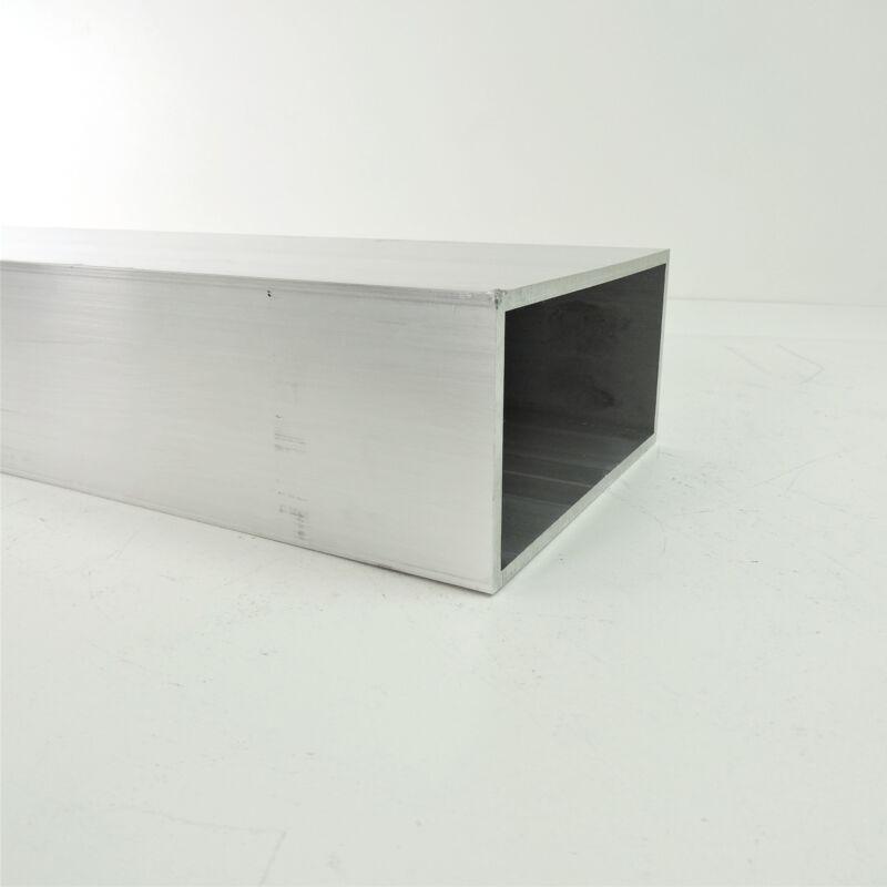 "3"" X 6"" OD AlumInum Rectangle TUBING .1875"" wall thick 52.25"" long sku 106327"