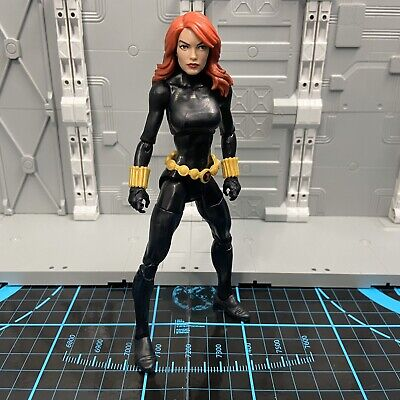 "Marvel Legends Vintage Series BLACK WIDOW 6"" Loose Figure Retro Avengers Wave"