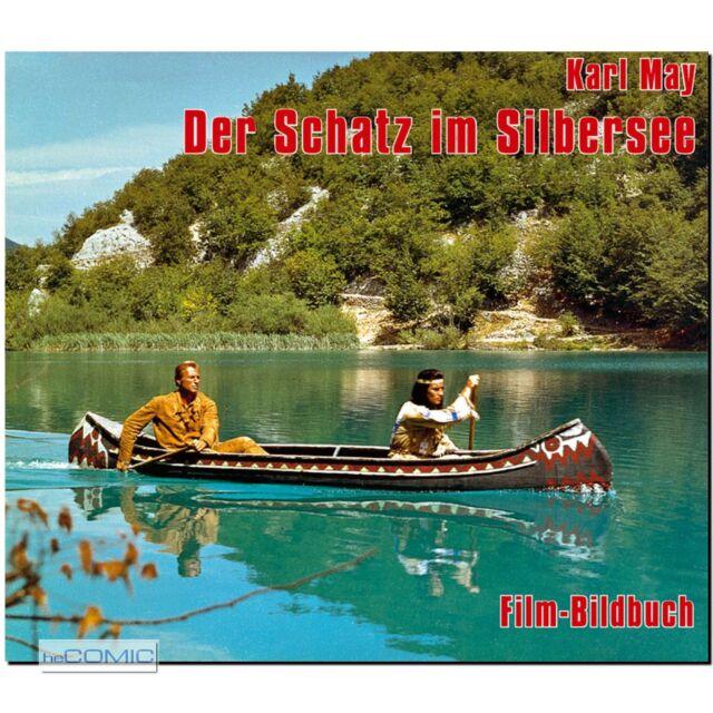 Film BILDBUCH Karl May Der Schatz im Silbersee Michael Petzel Lex Barker WESTERN