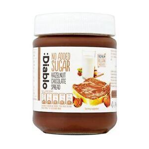 Diablo No added Sugar Hazelnut Chocolate Spread 350g