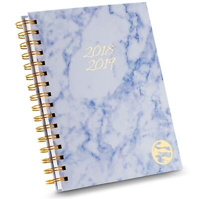 2018-2019 Academic Daily Planner Monthly Weekly Hardcover Agenda Calendar