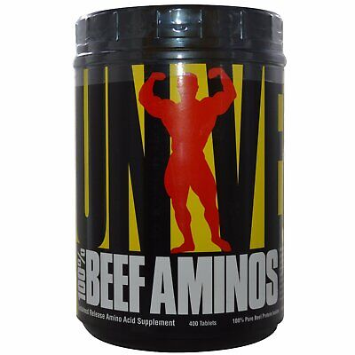 Universal Nutrition 100 Beef Aminos 400 Tablets