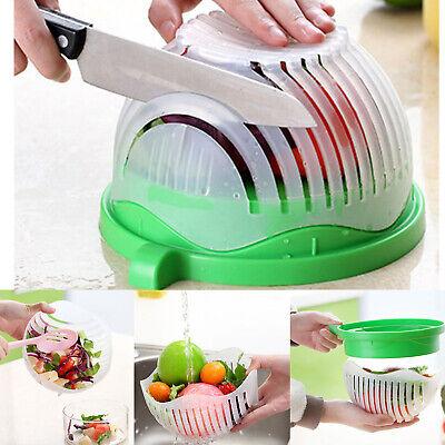Salad Cutter Bowl Fruit Vegetable Food Chopper Slicer