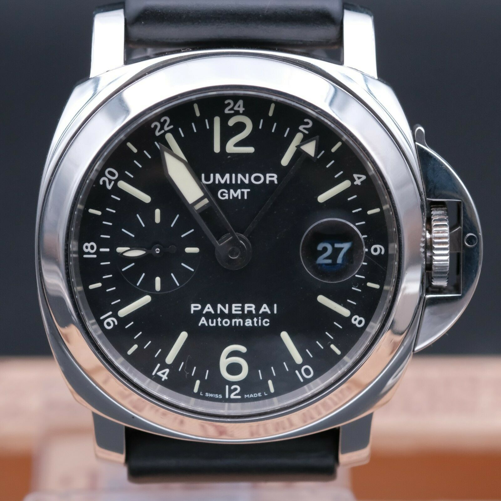 AUTHENTIC PANERAI LUMINOR GMT PAM 244 AUTOMATIC 44MM, PN_741150 - watch picture 1
