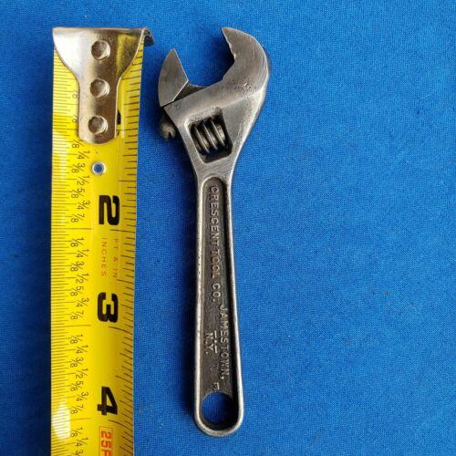 """Vintage Crescent 4"""" Adjustable Wrench"""