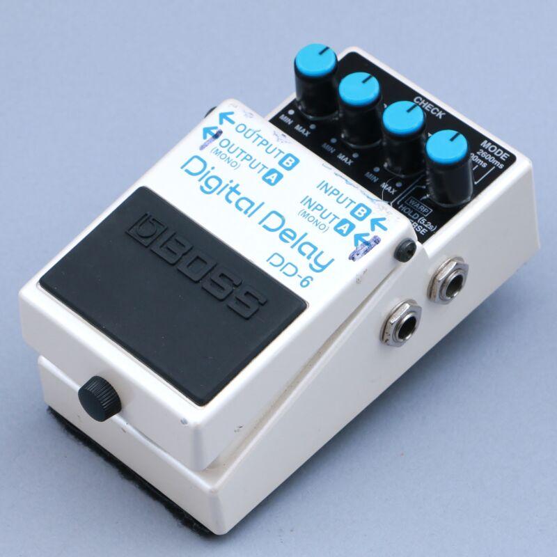 Boss DD-6 Digital Delay Guitar Effects Pedal P-14936