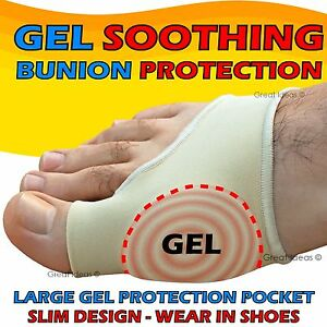BUNION-Gel-Foot-Gout-Arthritis-Corn-Big-TOE-Pain-Relief-Support-Pad-Protector