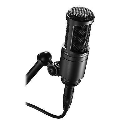 Audio-Technica AT2020 Cardioid Condenser Studio Recording Microphone