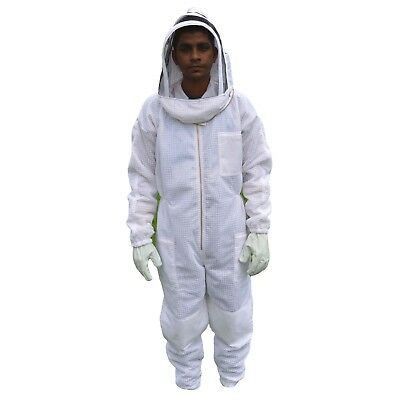 3xl Ventilated Bee Suit Body Comfort 3 Layer Mesh Vented Beekeeper Suit