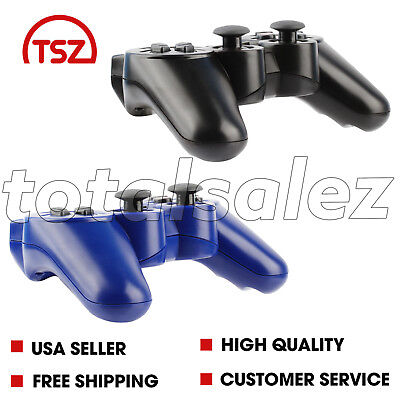 2 For Sony Playstation 3 PS3 Combo Wireless Bluetooth Video Game Controller
