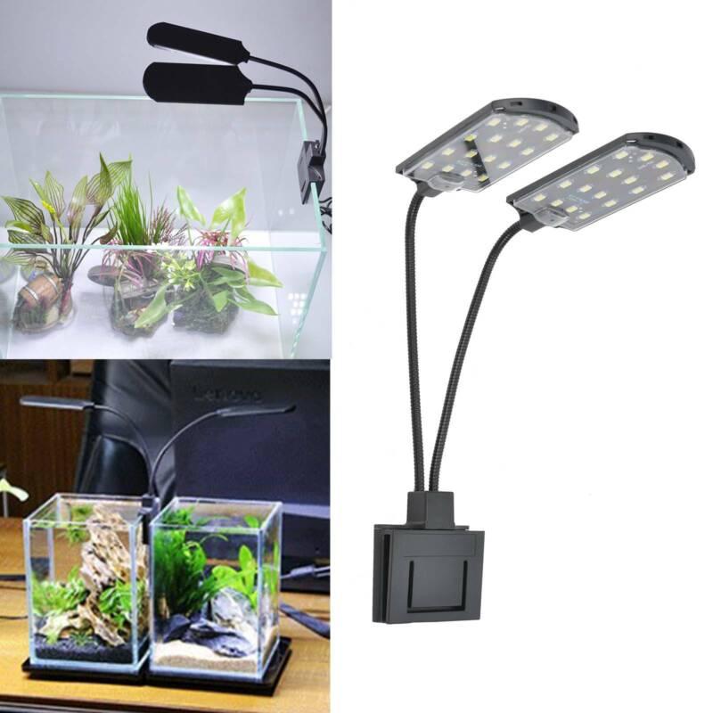 LED Aquarium Beleuchtung Aquarium Laterne Aufsetzleuchte Lampe Vollspektrum 15W