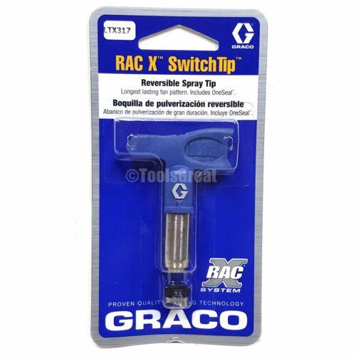 Graco Rac X SwitchTip  LTX317 Latex Paint Spray Tip 317