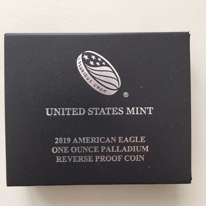 2019-W 1 oz Reverse Proof Palladium American Eagle
