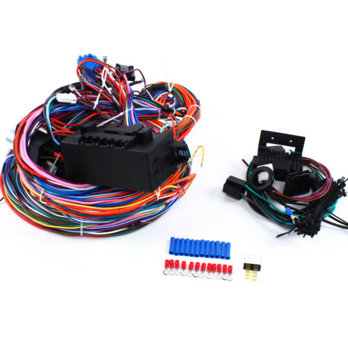 12v Universal 24 Circuit Fuse Wire Harness For Muscle Car