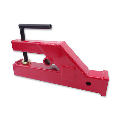 Clamp On Trailer 2 Receiver Hitch For Deere Bobcat Tractor Bucketskid Steer