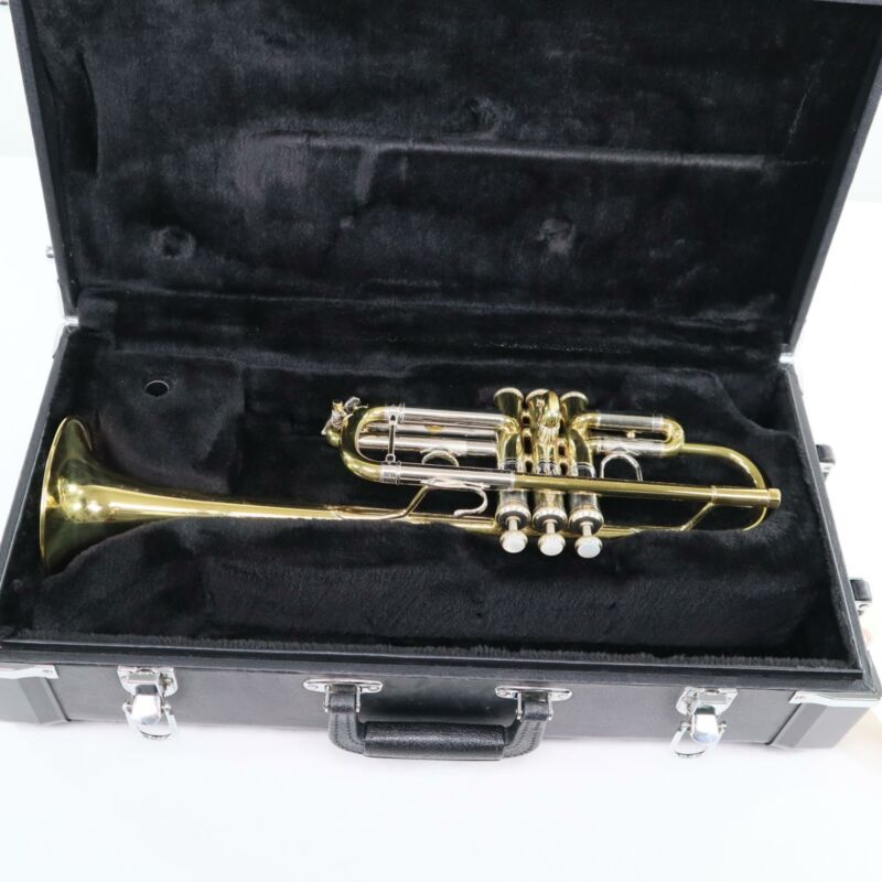 Early Elkhart Bach Stradivarius Model 239 CML Professional C Trumpet SN 57720