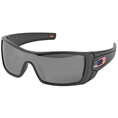 Oakley SI Batwolf - Matte Black w/ Color USA Flag, Prizm Black Lenses 9101-5927