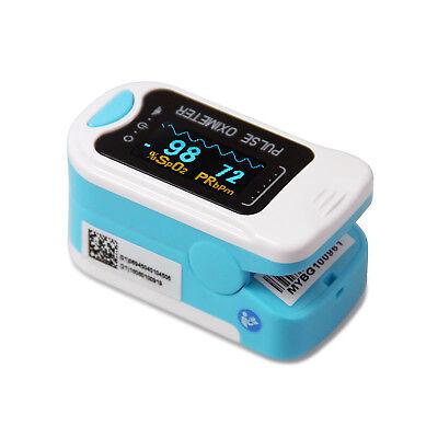 Pouchlanyard Oled Fingertip Pulse Oximeter Spo2 Bar Graph Hr Monitor Us Seller