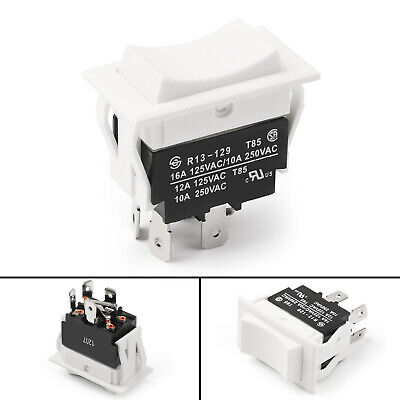 1pcs Rectangle Rocker Switch Momentary 4pin On-off-on 125250v 38mm Sci Rohs Us