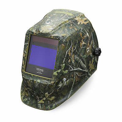 Lincoln Viking White Tail Camo 2450-3 Welding Helmet K4411-3