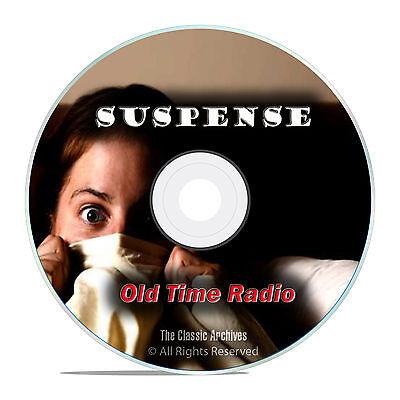 Suspense!, 959 Episodes, The Full Run Set Old Time Radio Drama OTR DVD MP3 F88
