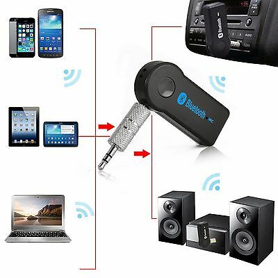 Wireless Bluetooth 3 5Mm Car Aux Audio Stereo Music Receiver Adapter Hands Free