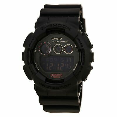 Casio Men's Watch G-Shock Dive Digital Black Dial Resin Strap GD120MB-1