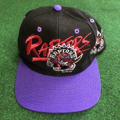 Vtg Rare NBA Toronto Raptors AJD Snapback hat