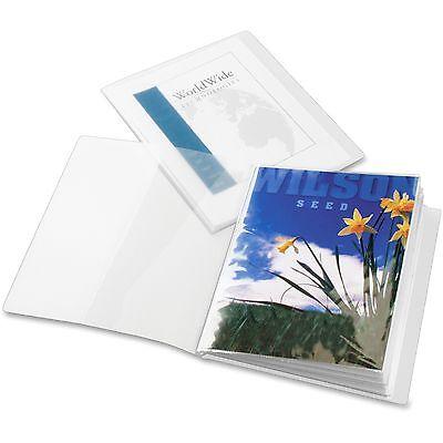 Cardinal Presentation Book Custom 12 Pockets 11x8-12 Clear 51532