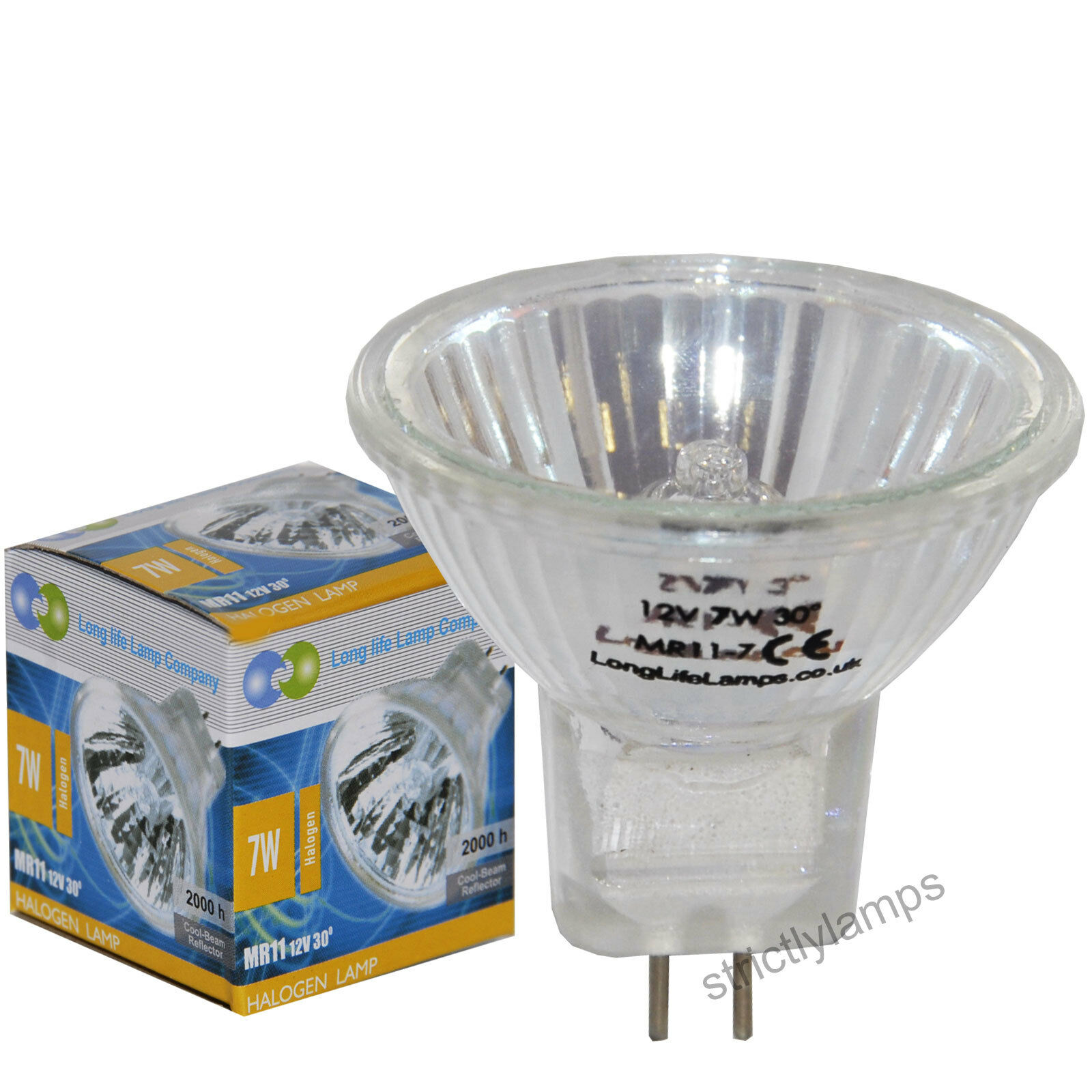 35mm 12v 7w Fibre Optic Bulb 2 Pin